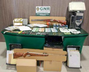 Rede detida pela GNR Grândola por burlas furtos e crimes
