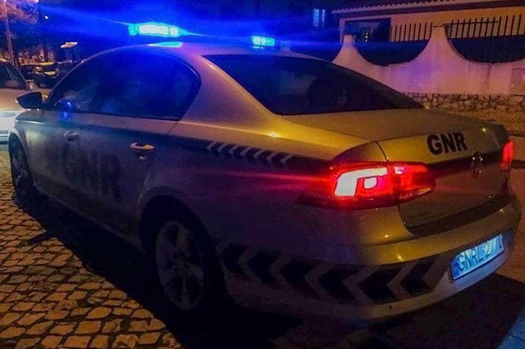 Guarda Nacional Republicana detenção em Leiria