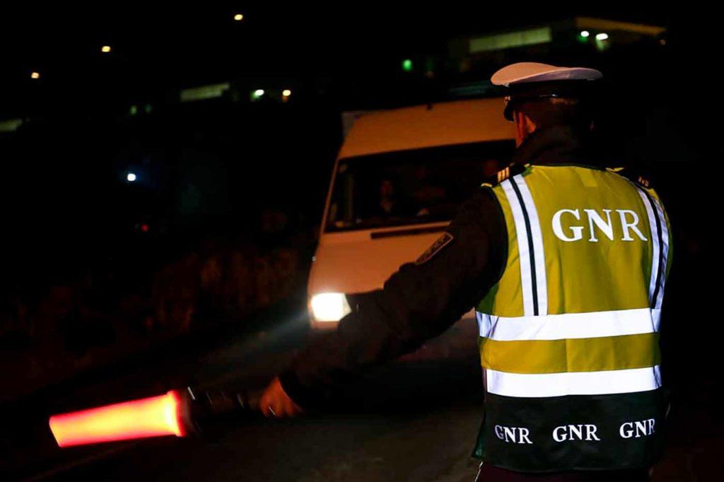 Guarda nacional republicana em operação fiscalização