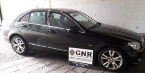 Mercedes Benz, recuperado pela GNR, furtado em Castro Daire em 2018