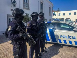 Brigada de intervenção Polícia PSP Crimes Furto Roubo
