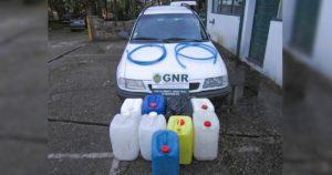 Opel Astra, carrinha branca, furtada em Matosinhos a 19 de Março e recuperada pela GNR durante fiscalização a pandemia COVID-19