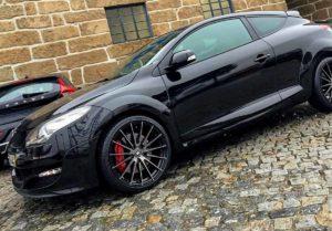 Renault megane rs sport furtado no Porto Gandra