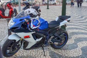 Crime moto suzuki gsr-x 750 furtada em Cascais, portugal