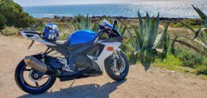 Crime moto suzuki gsr-x 750 na praia furtada em Cascais