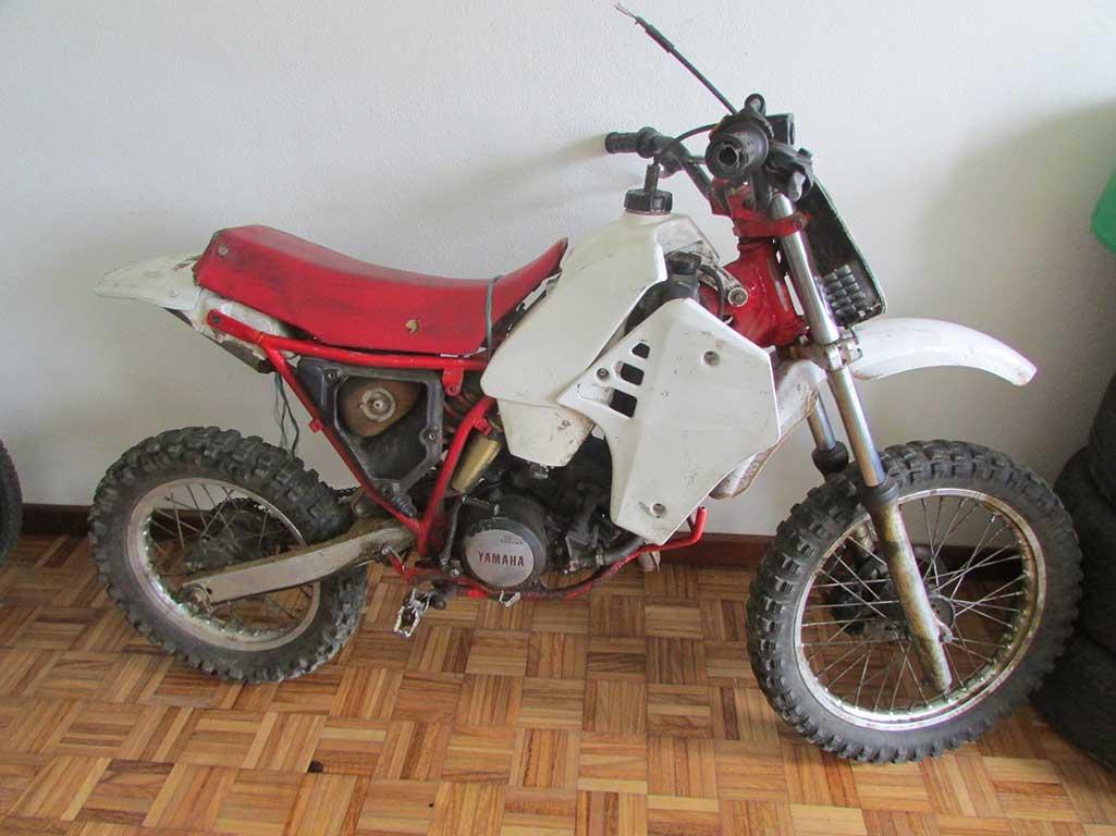 Motociclo furtado recuperado pela PSP em Bragança