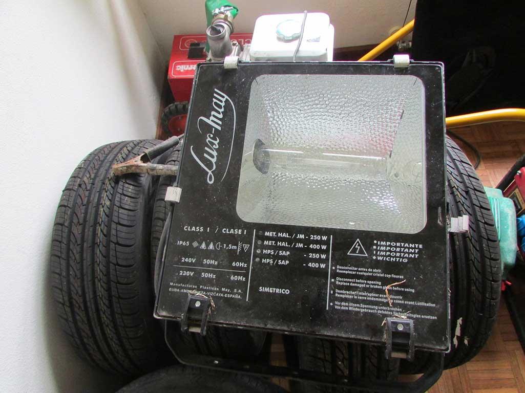Peças de automóvel recuperadas pela PSP em Bragança