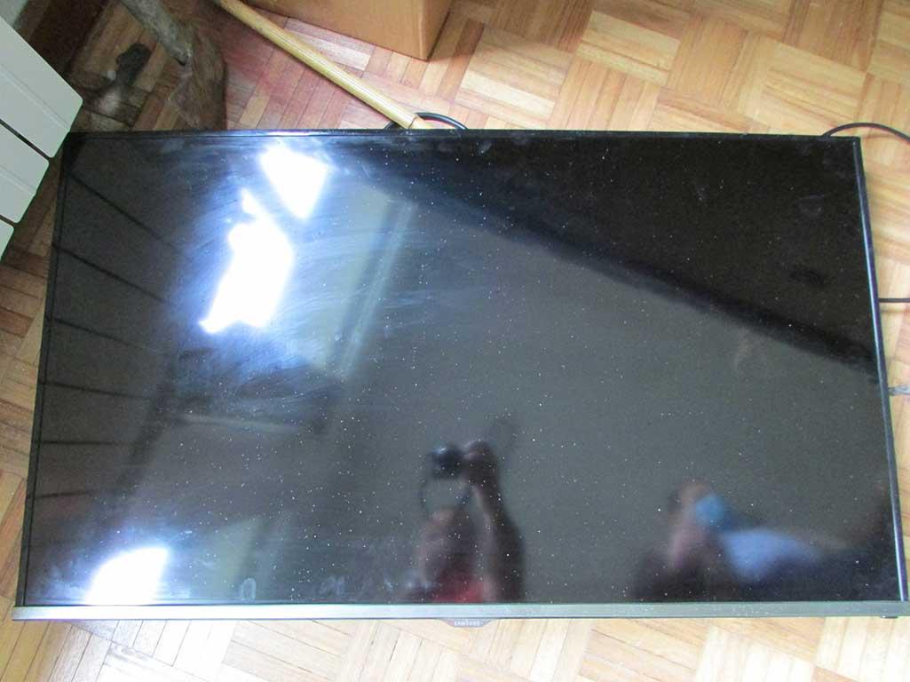 TV recuperada pela PSP de Bragança