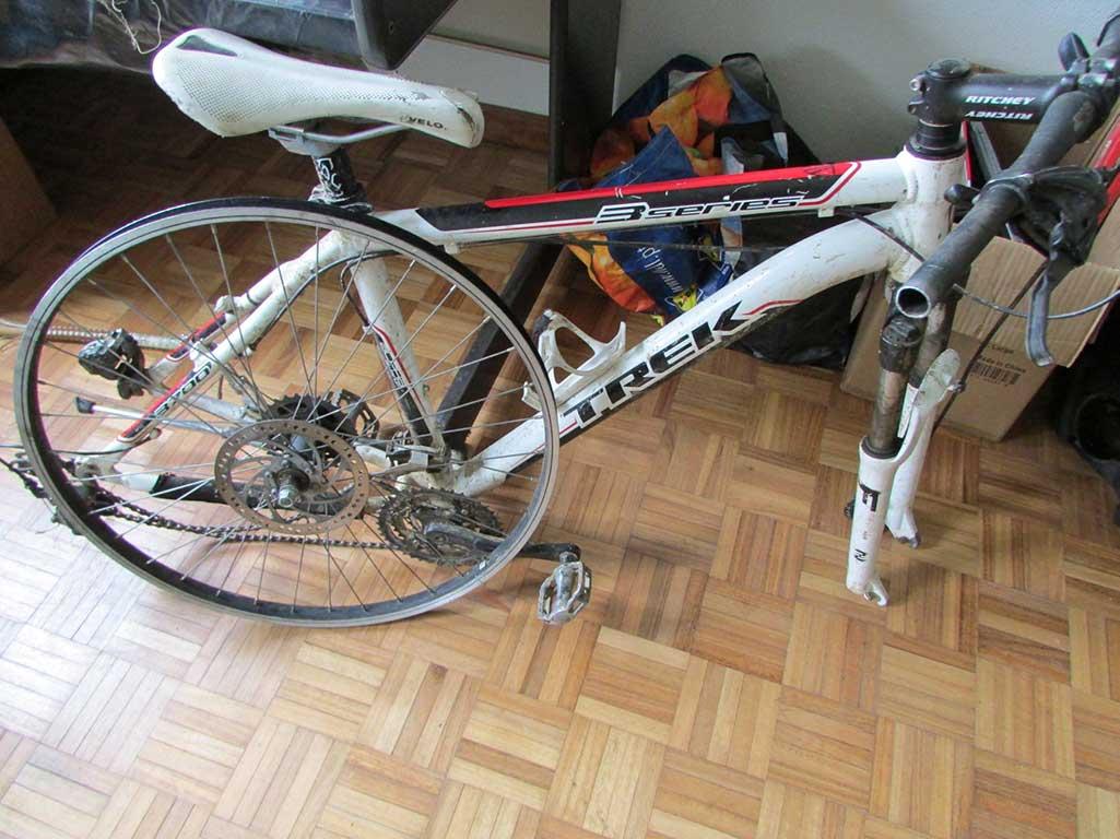 Bicicleta furtada recuperada pela PSP em Bragança