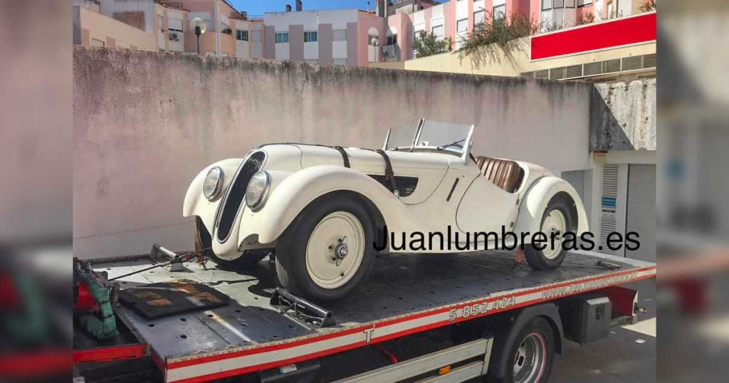 BMW avaliado em um milhão de euros, furtado, recuperado em garagem em Telheiras