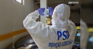 Polícia de Segurança Pública - PSP - Inspeção Judiciária - viatura furtada