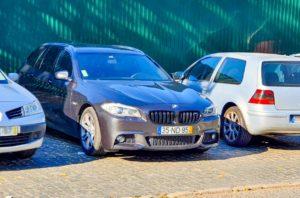 BMW serie 5 furtada em lisboa aeroporto