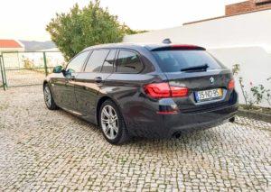 BMW 535D furtada aeroporto Lisboa