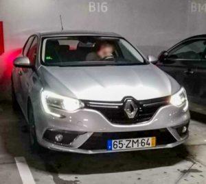 Renault megane furtado aguas santas