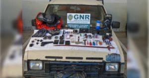 Dois detidos em Torre de Moncorvo com viatura furtada