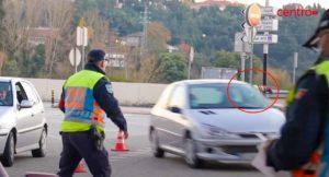 Condutor Foge de operação STOP PSP