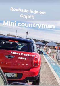 Mini Countryman furtado em grijó