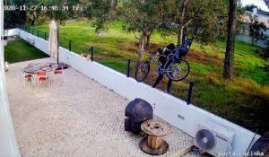 furto roubo bicicleta de moradia em azeitao