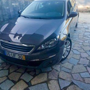 Peugeot 308 sw furtado em salgueiros porto