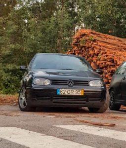 VW Golf 4 roubado vila nova de Famalicão