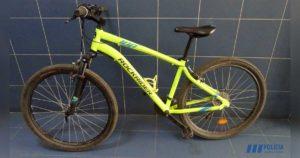 PSP de Faro pede colaboração para identificar dono de bicicleta furtada