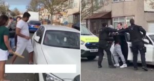 BMW Série 1 Branco estava a ser furtado quando populares interviram