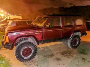 Jeep Cherokee XJ TD bourdeaux roubado furtado penha de frança Lisboa Portugal