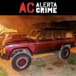 Jeep Cherokee XJ TD bourdeaux roubado furtado penha de frança Lisboa Portugal alerta crime