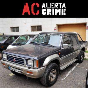Pickup Mitsubishi L200 furtada em Belém Lisboa alerta crime