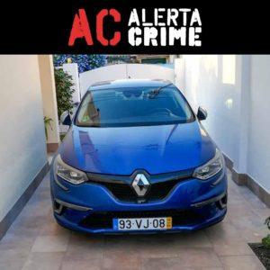 Renault Megane GT azul furtado Odivelas alerta crime