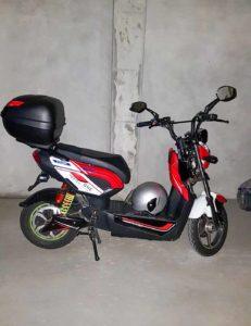 Moto Vortex One eléctrica furtada leiria