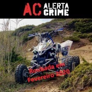 moto 4 furtada em leiria alerta crime