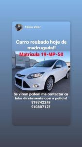ford focus furtado portugal
